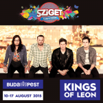 Kings of Leon na Szigetu 2015.