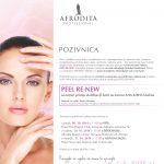 Stručni seminar Kozmetike Afrodita PEEL RE-NEW